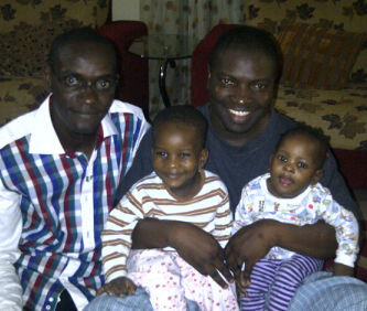 myself,Babukar and his 2 kids